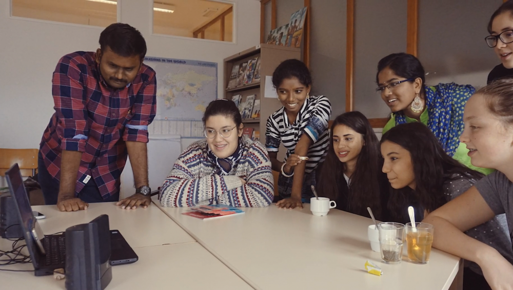 Scholenband Don Bosco Sint-Pieters-Woluwe en Don Bosco Pannur (India)